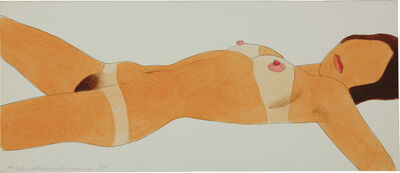 Tom Wesselmann, 'Open Ended Nude Drawing Edition #67', 1974