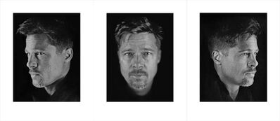 Chuck Close, 'Untitled, Set of 3 (Brad #1, #2, #3)', 2009