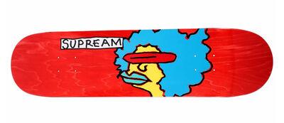 Mark Gonzales, 'Mark Gonzales Supreme skateboard deck ', 2017