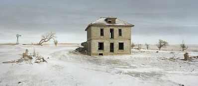 Andrew Moore, 'The Murray House, Sears Roebuck Rockfaced Wizard No. 52, Sheridan County, Nebraska', 2013