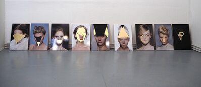 Stefano Bonacci, 'Studi di testa (Demoiselles)', 2016