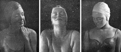 Carole A. Feuerman, 'Diamond Dust Triptych: Capri, Catalina & Moran', 2016