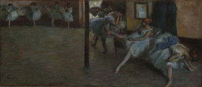 Edgar Degas, 'The Ballet Rehearsal', ca. 1891