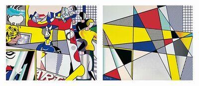 Roy Lichtenstein, 'Tel Aviv Museum Print', 1989