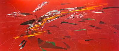 Zaha Hadid, 'Metropolis', 1988