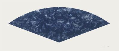 Ellsworth Kelly, 'Blue Curve (State I)', 1988