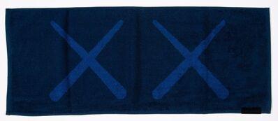 Kaws x AllRightsReserved, 'KAWS Holiday Towel (Navy)', 2018