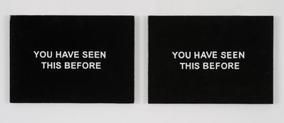 Laure Prouvost, 'YOU HAVE SEEN THIS BEFORE', 2013