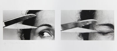 Anna Maria Maiolino, 'X II Untitled from Vida Afora series - Photopoemaction', 1974-2010