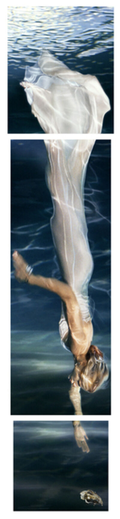 Barbara Cole, 'Pearl Diver (Tryptic)', 2002