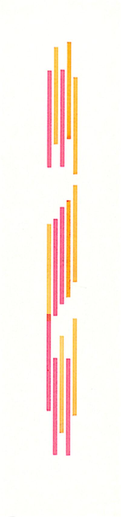 Vera Molnar, 'Gothique', 1990