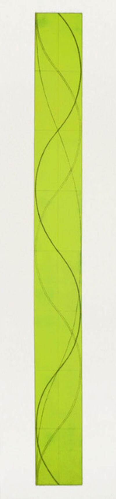 Robert Mangold (b.1937), 'Tall Column B', 2005