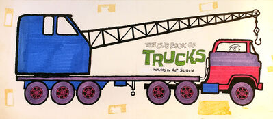 Art Seiden, 'The Cub Book of Trucks. Title Page', 1966