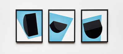 Serge Alain Nitegeka, 'Colour & Form V, VI, VII (Triptych)', 2017