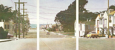 Robert Bechtle, 'Sunset Intersection', 1983