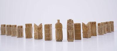 Stefan Szmaj, 'Set of Chess Figures', ca. 1920-1940