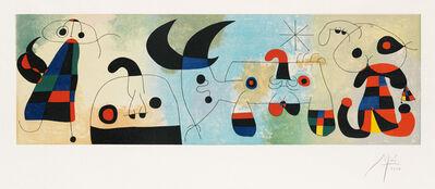 Joan Miró, 'Sur Quatre Murs', 1951