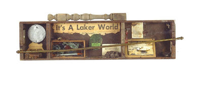 George Herms, 'Laker World', 1973