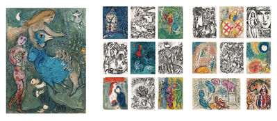 Marc Chagall, 'Le Cirque (Complete Portfolio of 38 Lithographs)', 1967