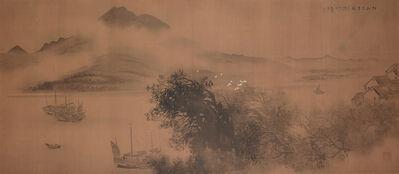 Kinoshita Seigai 木下靜涯, 'Sentient Nature', 1939