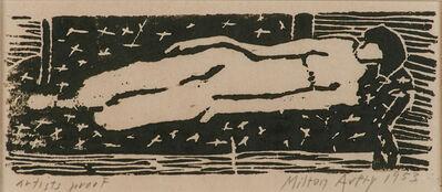 Milton Avery, 'Reclining Nude', 1953