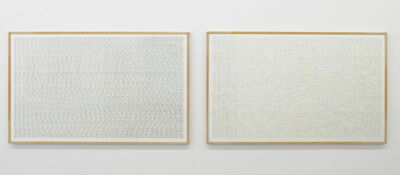 herman de vries, 'different&identic', 2002