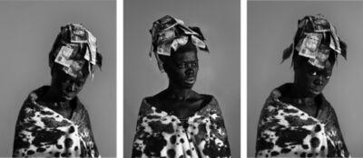 Zanele Muholi, 'Nomalendi II, Parktown (Triptych)', 2016