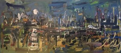 Jon Imber, 'Lily Pond at Night', 2012