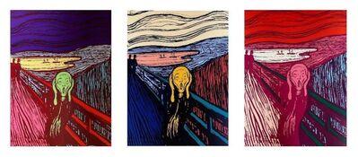 Andy Warhol, 'The Scream Suite (Sunday B. Morning), 3 Silkscreen Artworks', 1970-2020