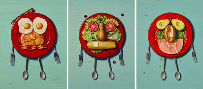 Robert C. Jackson, 'Playing with My Food - Revisited', 2018