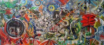 Mark T. Smith, 'Inferno (Triptych)', 2010