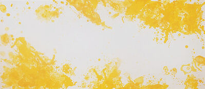 Sam Francis, 'Spleen (Yellow)', 1971