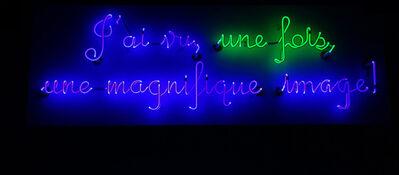 Barbara Steinman, 'J'ai vu, une fois', 2013