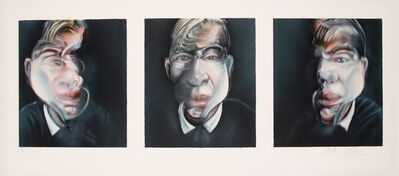 Francis Bacon, 'Three studies for a Self-portrait', 1981