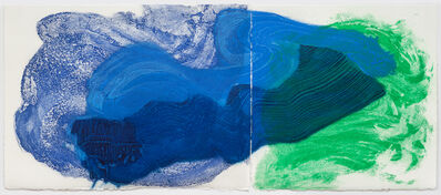 Howard Hodgkin, 'Where the Sky meets the Sea', 2016