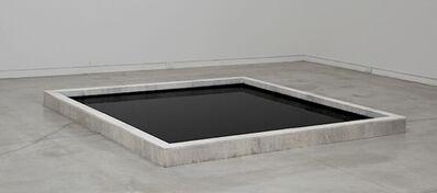 Martin Legon, 'Cuadrado negro sobre fondo blanco', 2015