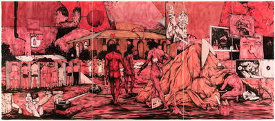 William Buchina, 'Scenery in Red #4', 2020