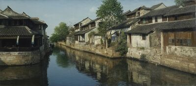 Yihua Wang, 'Ancient Town', contemporary