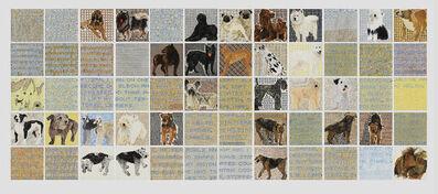 Jennifer Losch Bartlett, 'Dogs', 2006