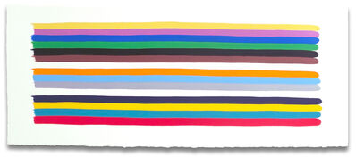 Jessica Snow, 'Long Color Stack 1', 2014