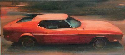 Kobi Assaf, 'Orange Car', 2014