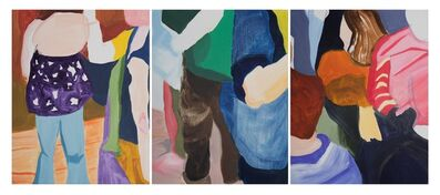 Sofia Spinnato, 'Crowded triptych', 2016