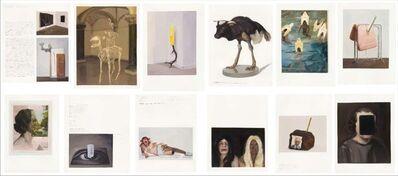 Sandra Gamarra, 'Autorretrato II (Gedi Sibony, Thomas Grünfeld, John Stezaker) ', 2012