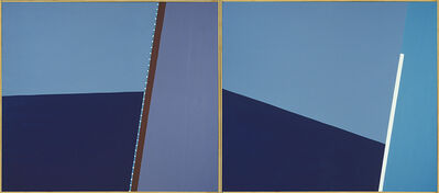 Angelo Ippolito, 'Tack/Adrift (from the Regatta Series), diptych', 1987