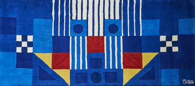 After George Ortman, 'Wall-hanging tapestry', 1970s