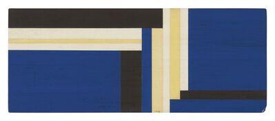 Ilya Bolotowsky, 'Blue Horizontal', 1968