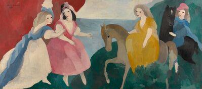 Marie Laurencin, 'La réception des jeunes filles', 1932