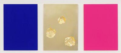 Yves Klein, 'Monochrome und Feuer', 1961