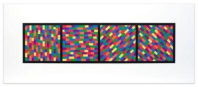 Sol LeWitt, 'Broken Color Bands in Four Directions', 2005