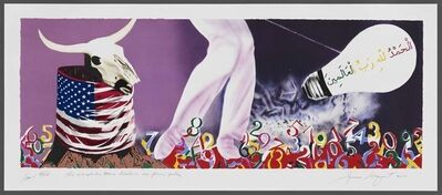 James Rosenquist, 'The Xenophobic Movie Director or Our Foreign Policy', 2011